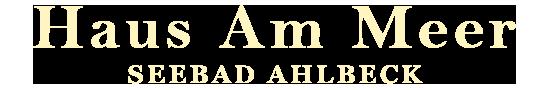 Logo Haus am Meer