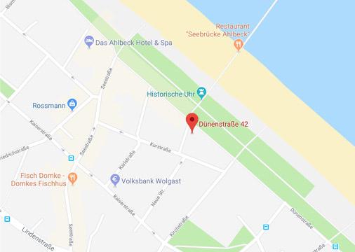 Haus Am Meer - Karte
